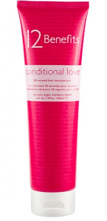 12 Benefits Conditional Love Hair Conditioner 5oz