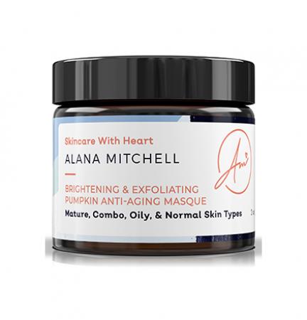 Alana Mitchell Brightening & Exfoliating Pumpkin Anti-Aging Masque