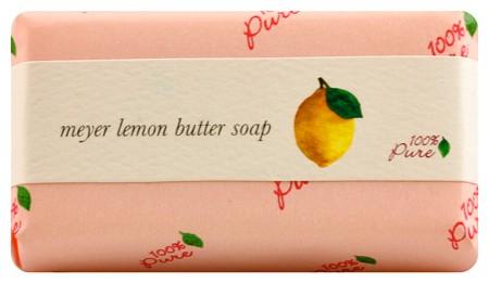 100% Pure Meyer Lemon Butter Soap 4.5oz