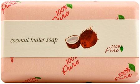 100% Pure Coconut Butter Soap 4.5oz