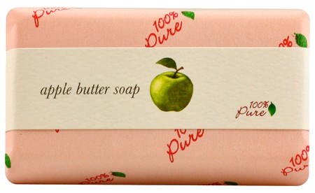 100% Pure Apple Butter Soap 4.5oz