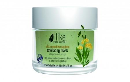 Ilike Organic Skin Care Ultra Sensitive Exfoliating Mask 1.7oz