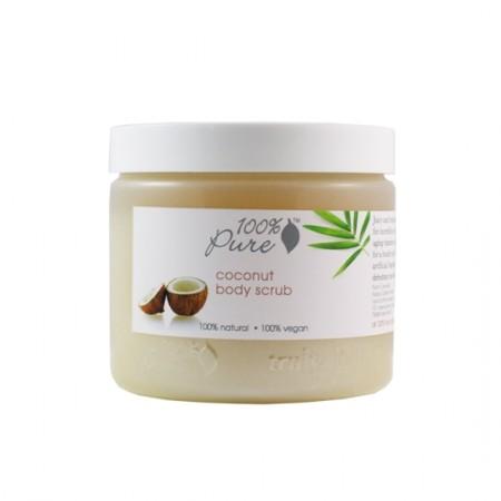 100% Pure Coconut Body Scrub 15oz