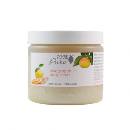 100% Pure Pink Grapefruit Body Scrub 15oz