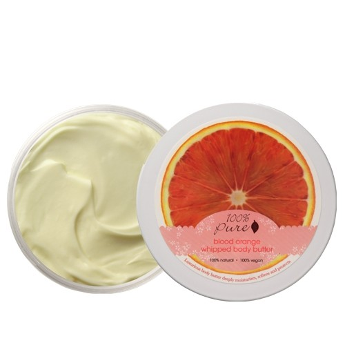 100% Pure - Blood Orange Whipped Body Butter 3.4 Oz
