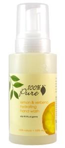 100% Pure Lemon and Verbana Hydrating Hand Wash