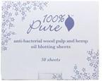 100% Pure Antibacterial Wood Pulp & Hemp Oil Blotting Paper