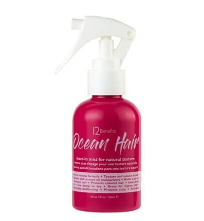 12 Benefits Ocean Hair Leave-In Mist 4oz