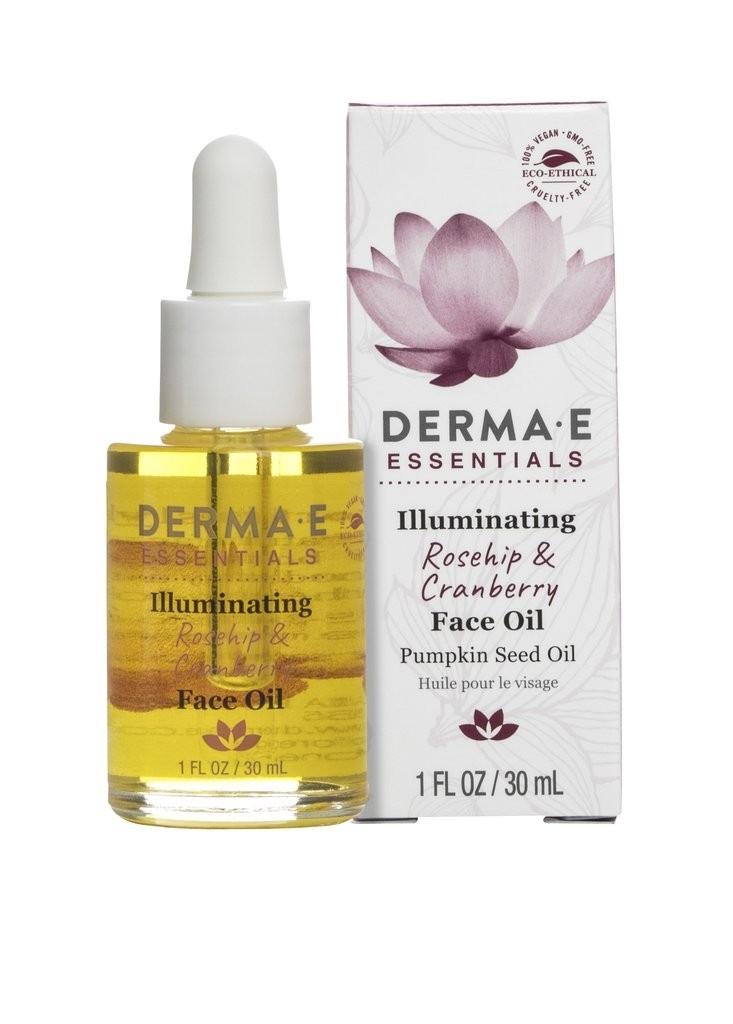 Derma E Illuminating Rosehip & Cranberry Face Oil 1oz