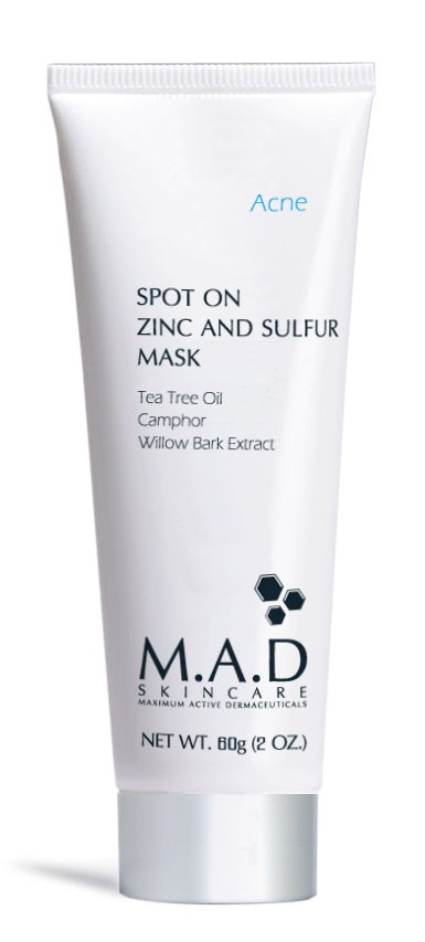 Mad Skincare |  Spot On Zinc and Sulfur Mask | Skincare by Alana