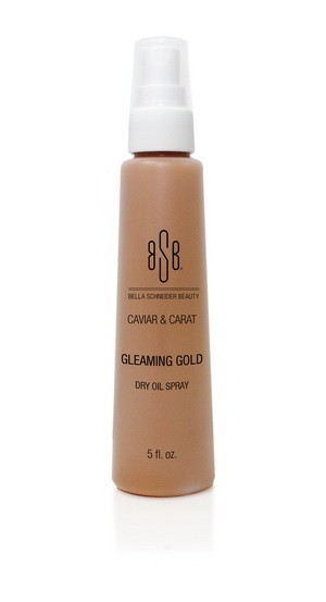 Bella Schneider Gleaming Gold Dry Oil Spray 5oz