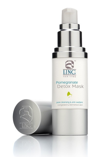 Ling Skincare Pomegranate Detox Mask 1oz