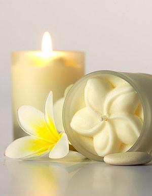 Pure Fiji Island Candles (White Gingerlily)