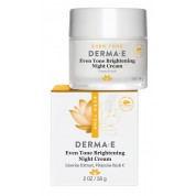 Derma E Even Tone Brightening Night Cream 2oz