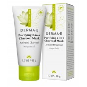 Derma E Purifying 2-in-1 Charcoal Mask 1.7oz