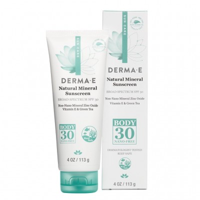 Derma E Natural Mineral Sunscreen SPF30 for Body 4oz