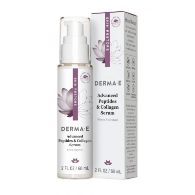 Derma E Advanced Peptides & Collagen Serum 2oz