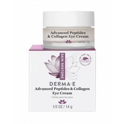 Derma E Advanced Peptide and Collagen Eye Cream 0.5oz