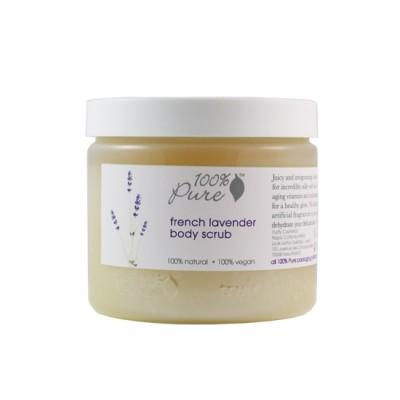 100% Pure French Lavender Body Scrub 19oz