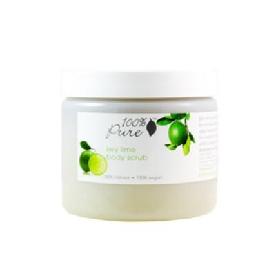 100% Pure Key Lime Body Scrub 15oz