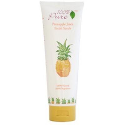 100% Pure Pineapple Facial Scrub 3.5oz