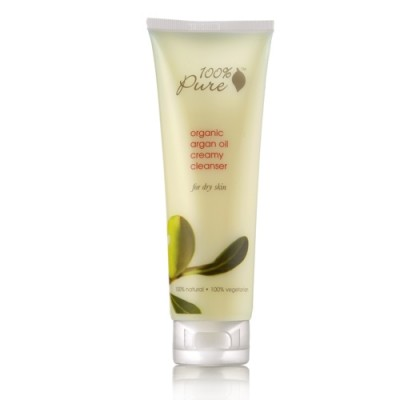 100% Pure Organic Argan Oil Creamy Cleanser 3.4oz