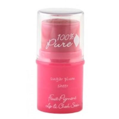100% Pure Sugar Plum Lip & Cheek Tint .26oz