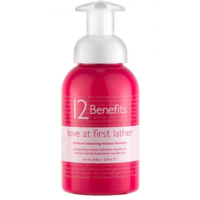 12 Benefits Love At First Lather Shampoo 8oz