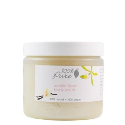 100% Pure Vanilla Bean Body Scrub 16oz