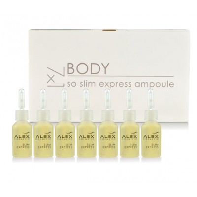 Alex Cosmetic Slim Express Ampoules (7 x 7ml)